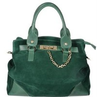 Blugirl Leather Chain Embellished Tote - Blumarine, Rocco Barocco, Versace Collection and More Handbags - Modnique.com