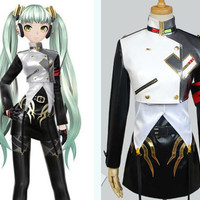 Miku Hatsune Project Diva F Agitation Cosplay Costume Uniform