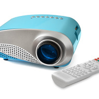 FAVI LED Movie and Game Projector for Kids - Blue (RioHD-LED-K1-BLUE)