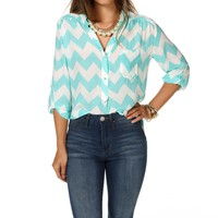 Sale-mint Chevron