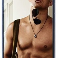Channing Tatum V1 iPhone 4 / iPhone 4s Black Designer Shell Hard Case Cover Protector Gift Idea