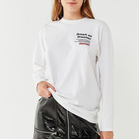 Dream On Dreamer Long Sleeve Tee   Urban Outfitters