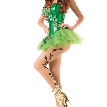 Be Wicked Two Piece Sexy Ivy Costume
