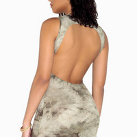 Open-Back Tank Dress