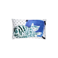 Kate Spade Silk Cat Nap Decorative Pillow Multi ONE