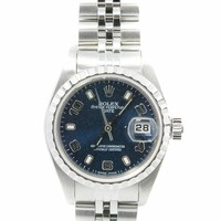 Rolex Date swiss-automatic womens Watch 79240 (Certified Pre-owned)