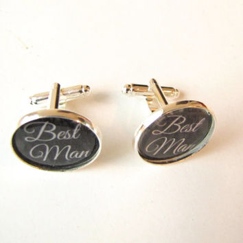 Best Man Cufflinks-Wedding,-jewelry,mens-friend,wedding party