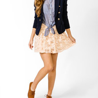 Shirred Lace Skirt | FOREVER 21 - 2000049203