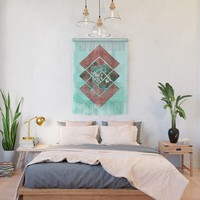 Geometric XX Wall Hanging by tmarchev