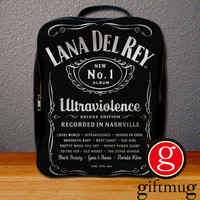 Lana Del Rey Ultraviolence Logo Backpack for Student
