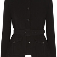 Tom Ford - Belted stretch-wool jacket
