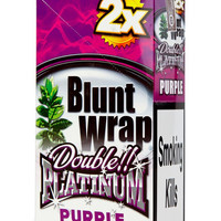 Blunt Wrap Double platinum x2 – Purple