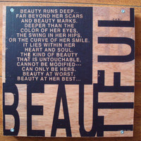Wood Art Inspirational Quote Verbiage Typography by ckrthoughtbox