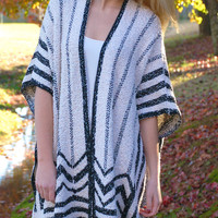 Stripes In The City Cardigan