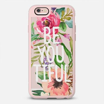 Be YOU Tiful Watercolor Floral iPhone 6s case by Jande La'ulu | Casetify