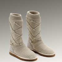 UGG Classic Argly Knit 5879 Boots Sand