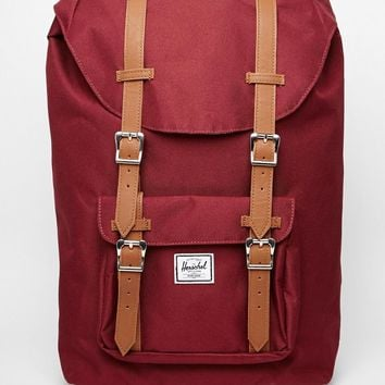Herschel Supply Co America Backpack in Burgundy