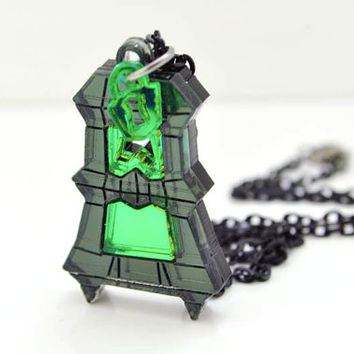 League of Legends Thresh Lantern Necklace Cosplay Pendant