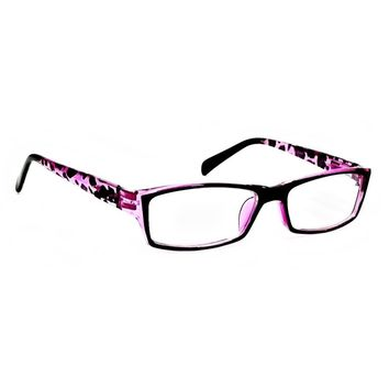 NWT Cute Ladies Retro Reader Rectangular Spring Hinges Frame Reading Glasses