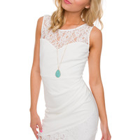 Alura Dress - White