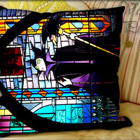 Maleficent Pattern Sleeping beauty Glass - Pillow Cover and Pillow Case.