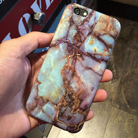 Unique Marble iPhone 8 7 7plus & iPhone se 5s & iPhone6 6s Plus Case