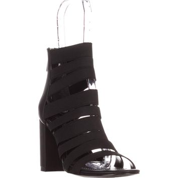 Charles by Charles David Erika Gladiator Sandals, Black, 9 US