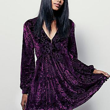 Free People Womens All Night Long Mini Dress