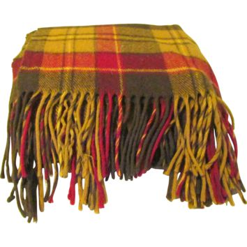 Pendleton Wool Tartan Plaid Stadium Blanket