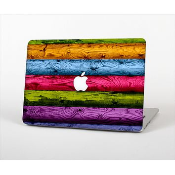 """The Neon Heavy Grained Wood Skin Set for the Apple MacBook Air 13"""""""