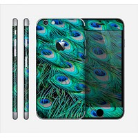 The Neon Multiple Peacock Skin for the Apple iPhone 6