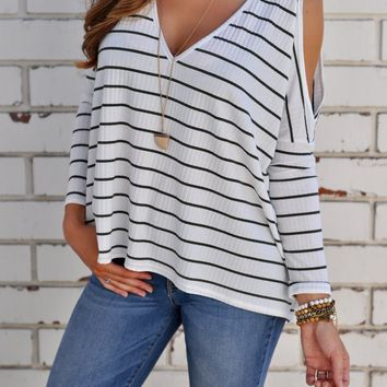Quinn Stripe Top