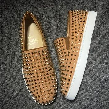 Cl Christian Louboutin Flat Style #700-1