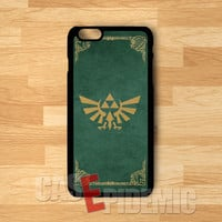 Triforce The Legend Of Zelda golden symbol on green -srwe for iPhone 4/4S/5/5S/5C/6/ 6+,samsung S3/S4/S5/S6 Regular,samsung note 3/4