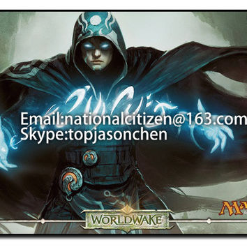 Many Playmat Choices - Jace, the Mind Sculptor - MTG Board Game Mat Table Mat for Magic the Gathering Mouse Mat 60 x 35cm