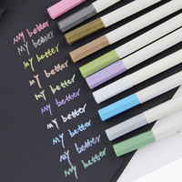 Water Chalk Pen Watercolor Gel Pen for Black Board Photo album Home Decoration Scrapbooking