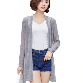 Women Blouse Shirt Women 2017 New Spring Summer Sweater Casual Crochet Poncho Fashion Tops For Work Woman Plus Size Clothing