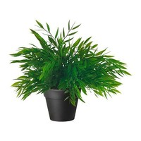 Ikea Artificial Potted Plant, House Bamboo, 11 Inch