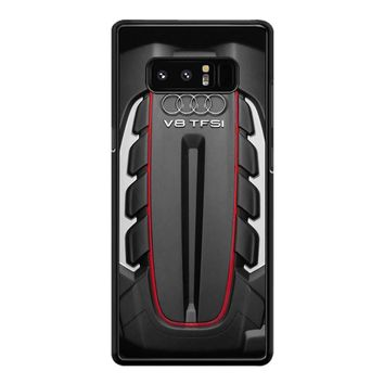 Audi S6 Twin Turbocharged Engine Samsung Galaxy Note 8 Case