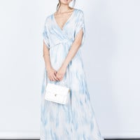 Cool Waves Maxi Dress