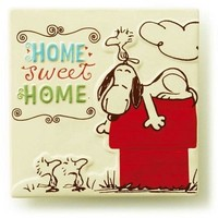 Hallmark Snoopy Home Sweet Home Ceramic Tile