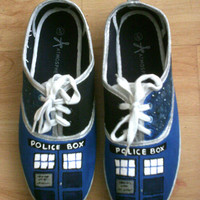 Doctor Who Canvas Shoes - Various Sizes