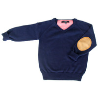 Gil & Jas Boys V-Neck Sweater - FINAL SALE
