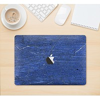 """The Scratched Blue Surface Skin Kit for the 12"""" Apple MacBook"""