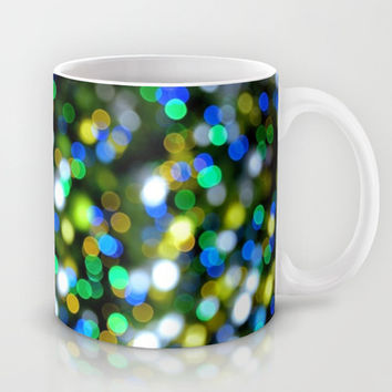 Christmas Tree Pine Lights Mug by RichCaspian