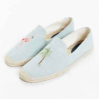 Soludos Flamingo Palm Tree Slip-On Shoe