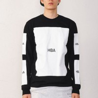HBA Plain 5 Logo Box T Shirt