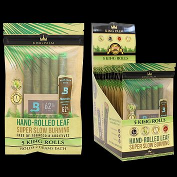King Palms Super Slow Burning Wraps - King Size (Pack of 5)