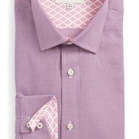 Ted Baker London Murgese Trim Fit Geometric Dress Shirt | Nordstrom
