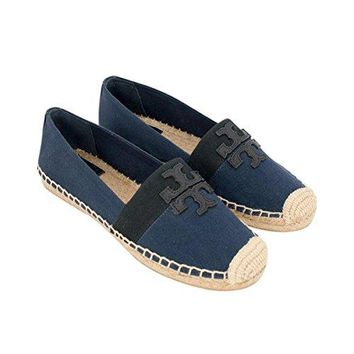 Tory Burch Weston Flat Espadrille Canvas
